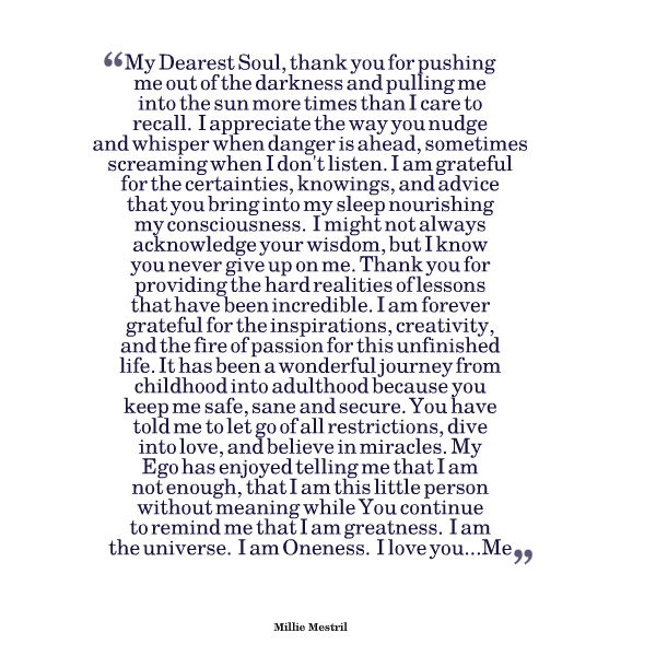 Dearest Soul