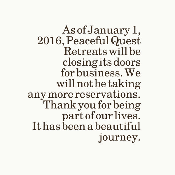 pqr closing