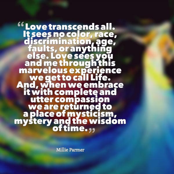 love transcends