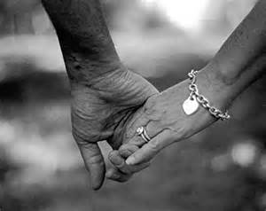 love holding on