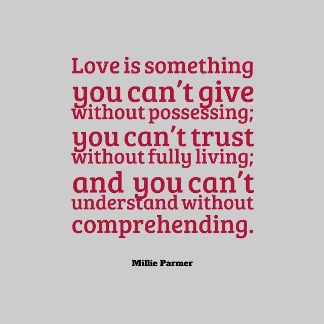 love is something