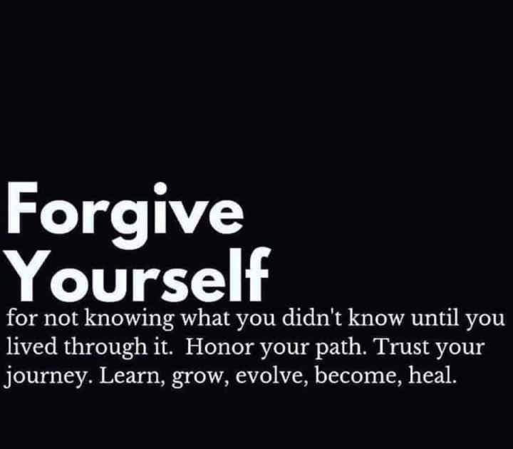 Forgive Yourself – Sacred Journey